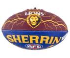 Sherrin Size 2 Lightning Football - Brisbane Lions 1