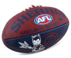Sherrin Size 2 Lightning Football - Melbourne Demons 4