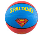 SPALDING Superman Outdoor Basketball - Size 7 1