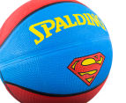 SPALDING Superman Outdoor Basketball - Size 7 4