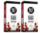 2 x 247 Breakfast Biscuit Raspberry, White Chocolate, Coconut & Ancient Grains 180g 1
