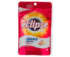 8 x Eclipse Chewy Mints Fruit Trio Pouch 70g 2