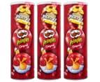 3 x Pringles Original 150g 1