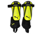 Puma Size Medium King Spirit Shin Guards - Safety Yellow/Black 1