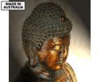 Buddha Head 75x75cm Canvas Print 1