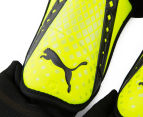 Puma Size Medium King Spirit Shin Guards - Safety Yellow/Black 3