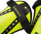Puma Size Medium King Spirit Shin Guards - Safety Yellow/Black 4