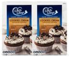 2 x White Wings Cookies & Cream Chocolate Cupcake Mix 430g 1