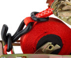 Quickloader Handyman Series QL0468 Retractable Ratchet Tie Down Twin Pack 6