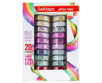 Sellotape Craft Glitter Tape 20-Pack - Assorted  1