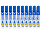 Pilot V Board Master Whiteboard Marker 10-Pack + Bonus 5-Pack - Blue/Assorted 3