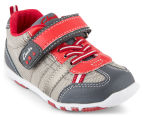 Clarks Toddler Moss Shoe - Charcoal/Multi 2