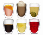 Bodum Pavina Large Double-Wall Glasses 6-Pack 350mL 1