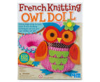 French Knitting Owl Doll Kit 1