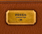 Fossil Emerson Large L-Zip Wallet - Brown 4