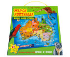 Map of Australia Jumbo Floor Puzzle 1
