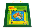 Map of Australia Jumbo Floor Puzzle 2