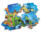 Map of Australia Jumbo Floor Puzzle 3