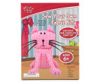 Craft for Kids Sew Your Own Fabric Kitty 1