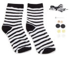 Craft for Kids Make Your Own Sock Zebra 3