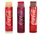 Lip Smacker Coca-Cola Flavoured 3Pc Lip Balm Collection 12g 3