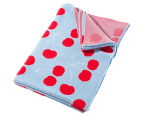 Little Bonbon 150x100cm Cot Blanket - Very Cherry 1