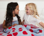 Little Bonbon 150x100cm Cot Blanket - Very Cherry 3
