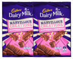 2 x Cadbury Marvellous Creations Raspberry Lemonade Block 270g 1