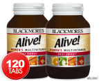 2 x Blackmores Alive! Women's Multivitamin 60 Tablets 1