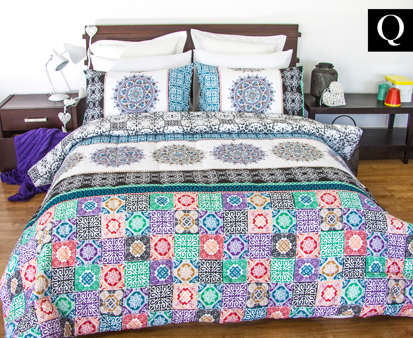 flower decor sets pure slate room willow nightstand woven with bedding set pillows comforters white dkny modern wall bloomingdales bedroom brown yellow luxury comforter contemporary ideas carpet soft painted