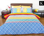 Apartmento King Bed Carlos Reversible Comforter Set - Multi 1
