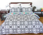 Apartmento Queen Bed Boho Reversible Comforter Set - Multi 2