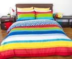 Apartmento Queen Bed Carlos Reversible Comforter Set - Multi 2
