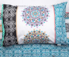 Apartmento Queen Bed Boho Reversible Comforter Set - Multi 3