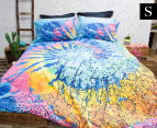 Retro Home Indah Single Bed Quilt Cover Set - Multi 1