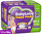 BabyLove Nappy Pants Junior 15-25kg, 22pk 1