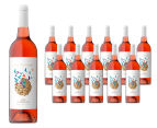 12 x Gilded Cage Hawkes Bay NZ Rosé 2014 750mL 1