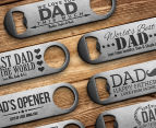 Personalised Engraved Bottle Opener - Stainless Steel 6