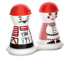 Set Of 4 Chef 11x14cm Salt & Pepper Shakers 2