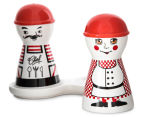 Set Of 4 Chef 11x14cm Salt & Pepper Shakers 3
