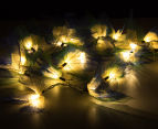 Short Story 3.5M Lily LED String Lights - Blue 3