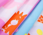 Peppa Pig Single Bed Reversible Quilt Cover Set - Summer 3
