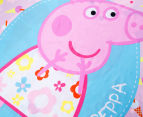 Peppa Pig Single Bed Reversible Quilt Cover Set - Summer 5