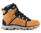 Salomon Men's Size 7.5 Switch 2 Waterproof Boot - Dark Sand/Black/Aluminium 1