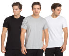 Calvin Klein Men's Crew Neck T-Shirt 3-Pack - Grey/White/Black 1