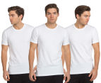 Calvin Klein Men's Crew Neck T-Shirt 3-Pack - White 1
