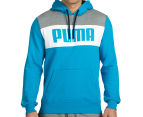 Puma Men's Power Block Hoodie - Atomic Blue 2