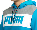 Puma Men's Power Block Hoodie - Atomic Blue 6