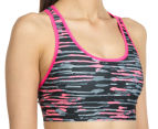Champion Women's Absolute Compression Bra - Pink Bloom Drip 3