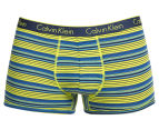Calvin Klein Men's CK One Cotton Trunk - Blue Shadow 1